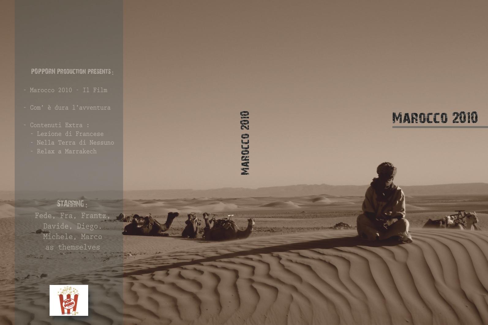 dvd Marocco 2010